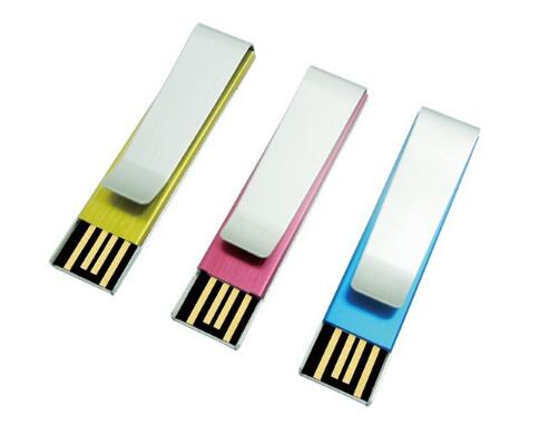 Tie Metal Clip USB Flash Drive