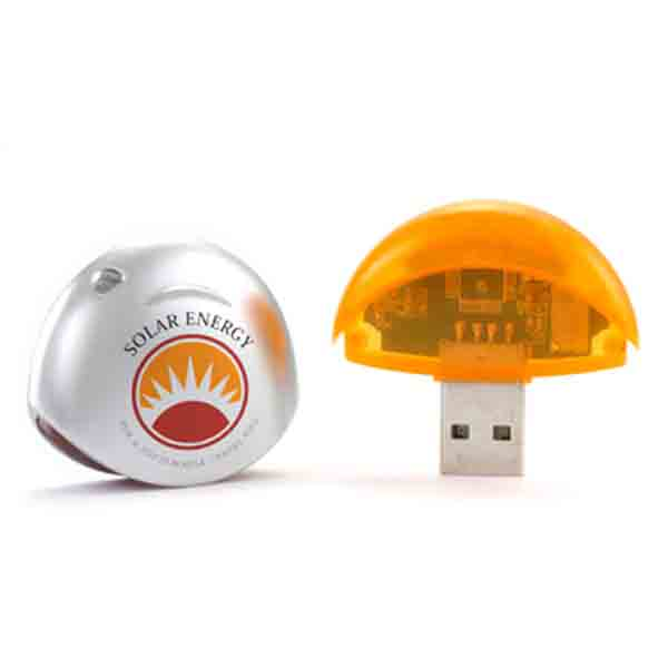 Plastic Round USB Flash Drive