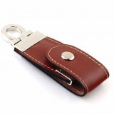 Brown Leather USB Flash Drive