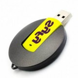 Round Swivel USB Flash Drive