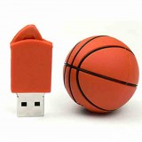 Basketball Shaped PVC USB Flash Drive