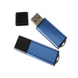 Blue Plastic USB Stick