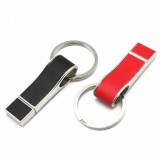 Leather USB Flash Drive with keyring