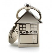 Metal House Shaped USB Flash Disk
