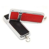 Rectangle Shaped Leather USB Flash Drive