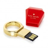 Plastic Ring Shaped USB Flash Drive