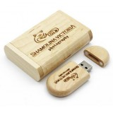 Wooden USB Stick Wood Box